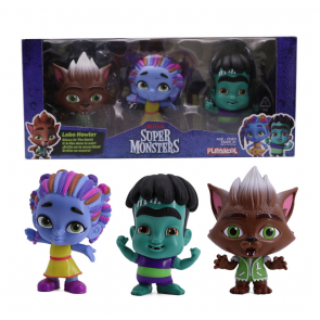 Netflix Super Monsters Set of 3 Collectible 4-inch Figures Monster Trio Set 1