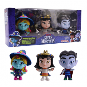 Netflix Super Monsters Set of 3 Collectible 4-inch Figures Monster Trio Set 2